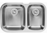 Appliances Online Blanco NIAGARAU1 Niagarau 1 and 3/4 Bowl Undermount Sink