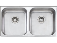 Appliances Online Oliveri NP60U Nu-Petite Double Bowl Undermount Sink