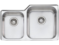 Appliances Online Oliveri NP62U Nu-Petite 1 and 3/4 Bowl Undermount Sink