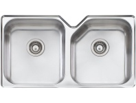 Appliances Online Oliveri NP63U Nu-Petite Double Bowl Undermount Sink