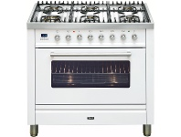 Appliances Online ILVE NT906WVGW 90cm Freestanding Natural Gas Oven/Stove