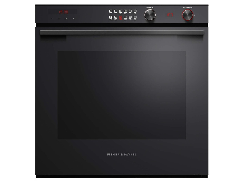 Fisher & Paykel OB60SL11DEPB2 60cm Contemporary Style Pyrolytic Built-In Oven