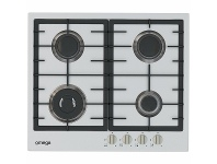 Appliances Online Omega 60cm Stainless Steel Gas Cooktop OCG63FXB1
