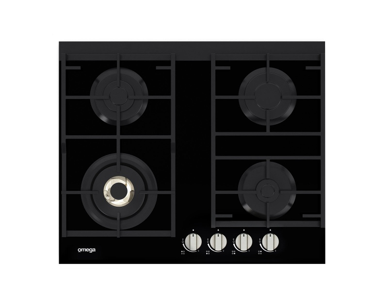 Omega OCG64FFX 60cm Natural Gas Cooktop