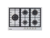 Appliances Online Omega OCG75FXB 75cm Natural Gas Cooktop