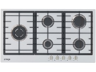 Appliances Online Omega OCG90FXB 90cm Natural Gas Cooktop