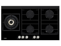 Appliances Online Omega OCG95FFX 90cm Natural Gas Cooktop
