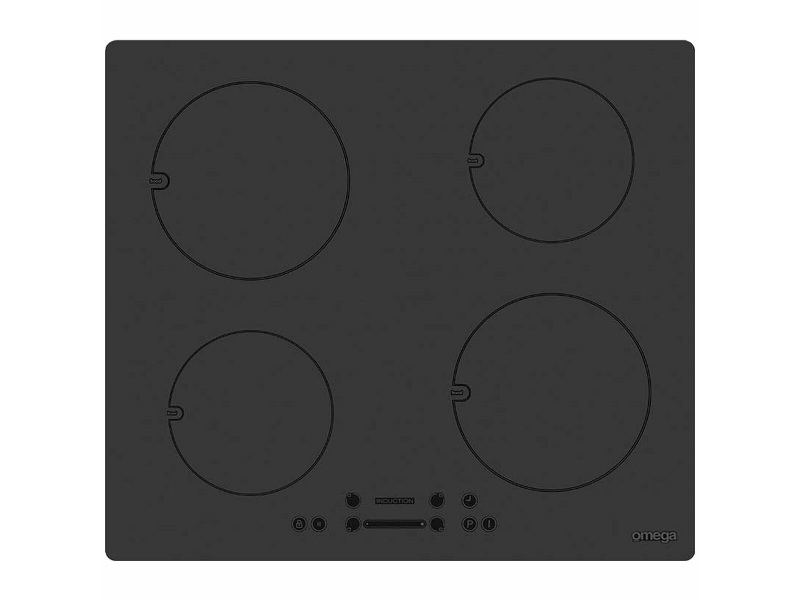 Omega 60cm 4 Zone Induction Electric Cooktop OCI64B