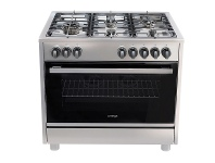 Appliances Online Omega OF914FX 90cm Freestanding Dual Fuel Oven/Stove