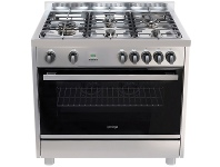 Appliances Online Omega OF916FX 90cm Freestanding Dual Fuel Oven/Stove
