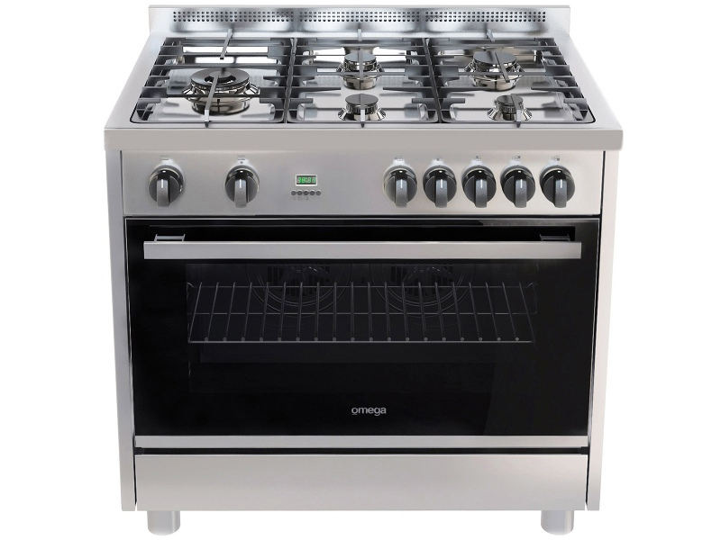 Omega OF916FX 90cm Freestanding Dual Fuel Oven/Stove
