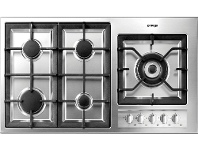 Appliances Online Omega OG92XA 90cm Natural Gas Cooktop