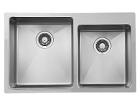 Appliances Online Artusi Oxford 1 and 3/4 Left Hand Bowl Sink OXFORD-L
