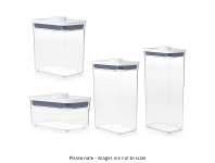 Appliances Online OXO POP Rectangular Containers Set OXO-POP-RECTANGLE