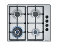 Appliances Online Bosch PBH6B5B90A 60cm Serie 2 Natural Gas Cooktop