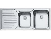 Appliances Online Franke PFX-P621LHD Pacific Plus 1 and 3/4 Bowl Left Hand Drainer Sink