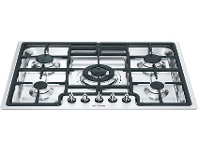 Smeg PGA75-4 72cm Classic Aesthetic Natural Gas Cooktop
