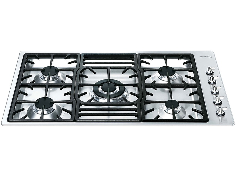 Smeg PGA95-4 90cm Classic Aesthetic Natural Gas Cooktop
