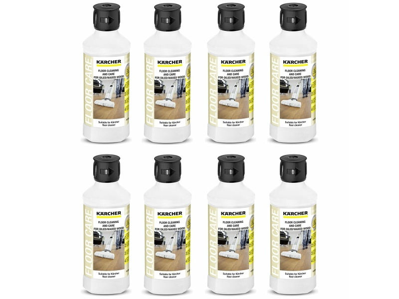 Karcher 8 x 500ml Oiled & Waxed Floor Cleaning and Care Detergent PK6.295-942.0