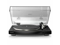 Appliances Online Pioneer Full Automatic Turntable with Built-in Phono Pre-amp Black PL30