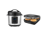 Appliances Online Sunbeam Express Crock Multi-Cooker and Pie Maker Pack PM4800CPE200