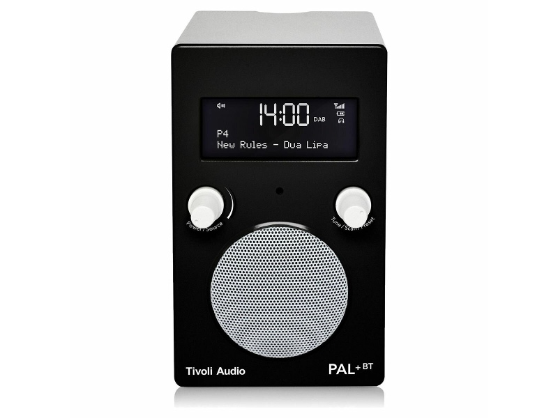 Tivoli Audio PAL Plus Portable Bluetooth Radio PPBTGBLK