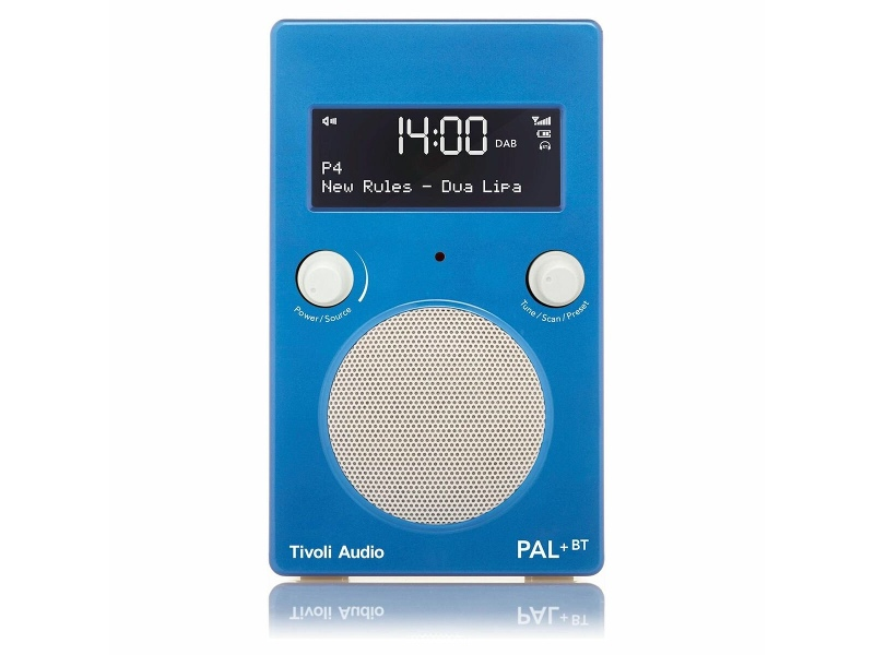 Tivoli Audio PAL Plus Portable Bluetooth Radio PPBTGBLU