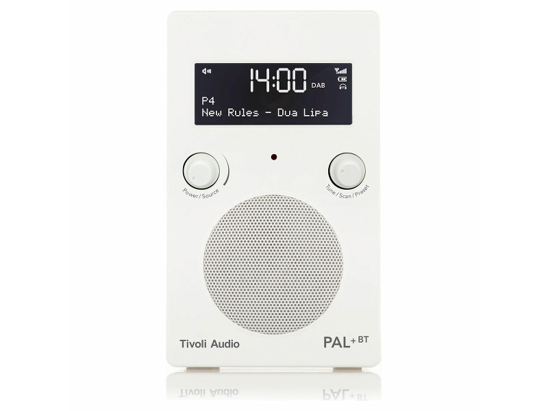 Tivoli Audio PAL Plus Portable Bluetooth Radio PPBTGWHT