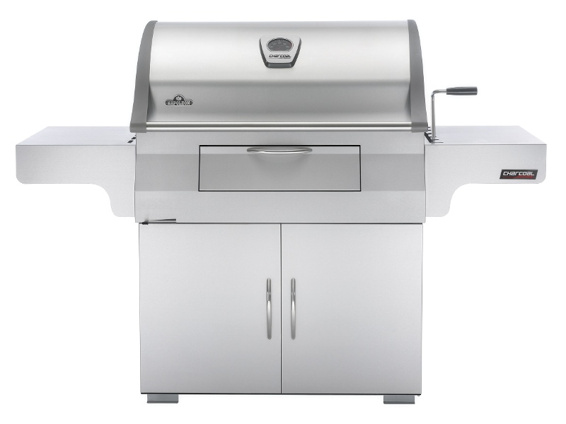 Napoleon PRO605CSS Professional Charcoal Fuel Freestanding BBQ