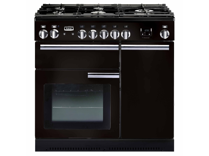 Falcon PROP90DFFGB-CHLPG 90cm Freestanding Dual Fuel Oven/Stove