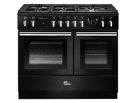 Appliances Online Falcon 100cm Professional FX Freestanding Dual Fuel Oven/Stove PROPL100FXDFBL-CHLPG