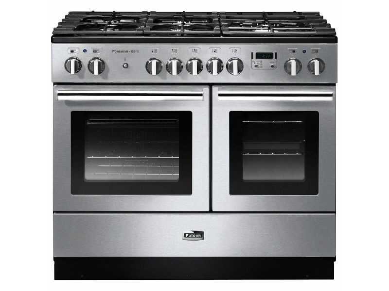 Falcon 100cm Professional FX Freestanding Dual Fuel Oven/Stove PROPL100FXDFSS-CHLPG