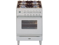Appliances Online ILVE PW60VGSS 60cm Quadra Series Freestanding Natural Gas Oven/Stove