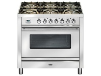 Appliances Online ILVE PW906MPSS 90cm Quadra Series Freestanding Dual Fuel Oven/Stove