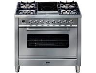 Appliances Online ILVE PW90IMPSS 90cm Freestanding Dual Fuel Oven/Stove