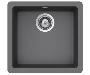 Abey QN-100SCR Schock Quadro Single Bowl Sink
