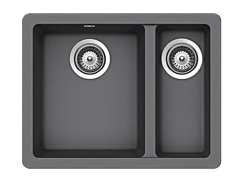 Abey QN-150CR Schock Quadro 1 and 1/2 Bowl Sink