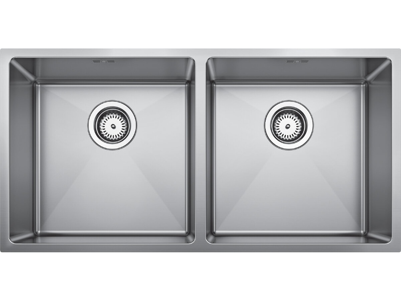 Blanco QUATR154040IUK5 Double Bowl Undermount Sink