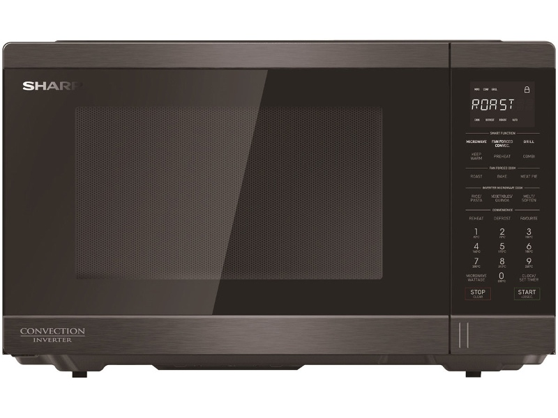 Sharp R890EBS Smart Convection 1100W Microwave