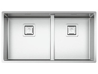 Appliances Online Artinox RADIUMOSE Radius Double Bowl Undermount Sink