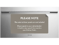 Appliances Online Fisher & Paykel 123L Integrated Fridge Drawer RB90S64MKIW1