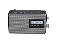 Appliances Online Panasonic RF-D10GN-K FM and DAB+ Digital Radio Black