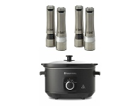 Appliances Online Russel Hobbs 4L Slow Cooker with 2 x Salt & Pepper Mills RHSC4A-RHPK4000-2