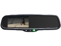 """Appliances Online Parkmate RVM-043ATD 4.3"""" Rearview Mirror Monitor with Auto Dimming"""