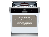 NEFF S425T80S0A Semi Integrated Dishwasher