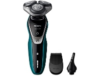 Appliances Online Philips S5550-44 Series 5000 Multiprecision Electric Shaver with Nose Trimmer
