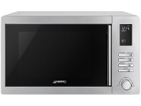 Appliances Online Smeg SA34MX 34L 1000W Microwave Oven with Grill