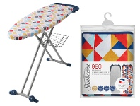 Appliances Online Sunbeam Geo Reversible Ironing Board Cover and Couture Ironing Board Pack SB0840SB8400
