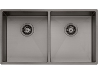 Appliances Online Oliveri SB63GM Spectra Double Bowl Sink