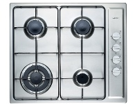 Appliances Online Emilia SEC64GWI 60cm Natural Gas Cooktop
